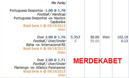 Mix Parlay Dengan 1 Tim Draw