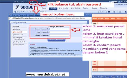 Ganti Password Baru