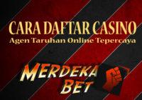 Cara Daftar Casino
